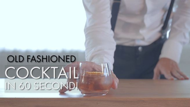 go to Cocktail in 60 secondi: Old Fashioned